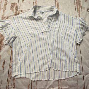 ArtLove Paris light weight striped blouse-size M/L
